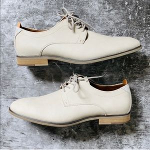 Men's Call It Spring Light Gray Lace Up Loafers
